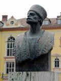Escultura del busto de Badea Cartan Gheorghe Foto de archivo libre de regalías