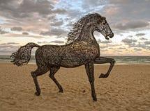 Escultura del caballo Fotos de archivo libres de regalías