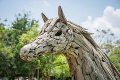 Escultura del caballo Imágenes de archivo libres de regalías