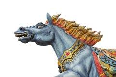 Escultura del caballo de la diosa Fotos de archivo libres de regalías