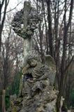 Escultura del cementerio Foto de archivo