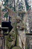 Escultura del cementerio Imagen de archivo libre de regalías