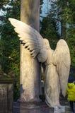 Escultura del cementerio Fotografía de archivo