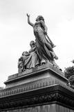 Escultura 4 del cementerio imagen de archivo libre de regalías