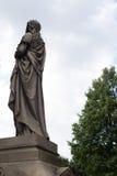 Escultura 5 del cementerio Foto de archivo