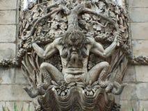 Escultura del diablo Imágenes de archivo libres de regalías