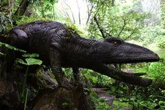 Escultura del dinosaurio imagen de archivo libre de regalías