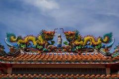 Escultura del dragón Foto de archivo libre de regalías