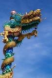 Escultura del dragón Imagen de archivo