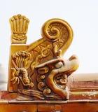Escultura del dragón Fotos de archivo