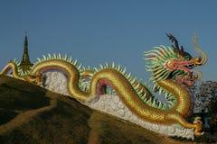 Escultura del dragón Imágenes de archivo libres de regalías