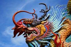 Escultura del dragón en Tailandia Foto de archivo