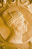 Escultura del dux, Venecia Fotos de archivo