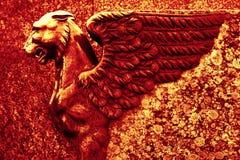 Escultura del grifo Foto de archivo