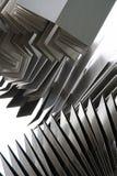 Escultura del metal Fotos de archivo libres de regalías
