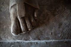 Escultura del metal Imagen de archivo libre de regalías