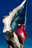 Escultura del metal de la bandera de la República Checa Imágenes de archivo libres de regalías