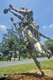 Escultura del metal, Rockville, Maryland Imagen de archivo libre de regalías
