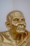Escultura del monje Imagen de archivo