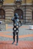 Escultura del muchacho Foto de archivo libre de regalías
