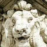Escultura del puente de Roma Imagenes de archivo