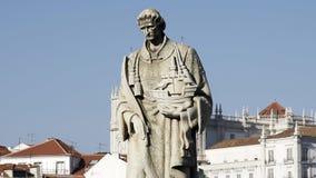 Escultura del sao Vicente en Lisboa almacen de metraje de vídeo