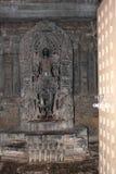 Escultura del templo de Hoysaleswara de Lord Suriya Sun God Imagen de archivo libre de regalías