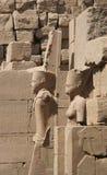 Escultura del templo de Karnak Imágenes de archivo libres de regalías