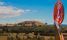 Escultura del valle de Yarra imagen de archivo libre de regalías