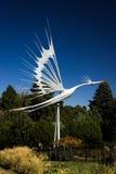 Escultura del viento Fotografía de archivo libre de regalías