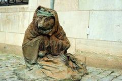 Escultura del vixen sin hogar Imágenes de archivo libres de regalías