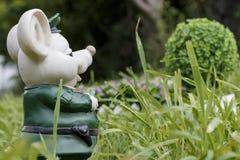Escultura del yeso de un ratón Foto de archivo libre de regalías