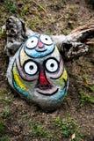 Escultura divertida de la roca Imágenes de archivo libres de regalías