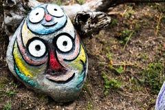 Escultura divertida de la roca Fotografía de archivo libre de regalías