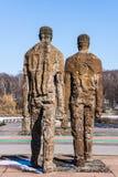 A escultura do â dos mineiros por Wnuk mariano Imagens de Stock