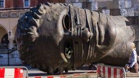"""Escultura do """"bendato Eros"""" Imagens de Stock Royalty Free"""