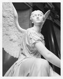 Escultura do anjo Foto de Stock Royalty Free