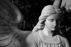 Escultura do anjo Fotografia de Stock Royalty Free