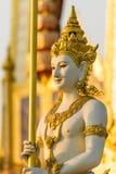 Escultura do anjo de Gaurdian, para decorar o crematório real imagem de stock
