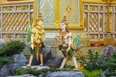 Escultura do anjo de Gaurgian, para decorar o crematório real imagens de stock
