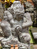 Escultura do Balinese nos templos Fotografia de Stock