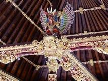 Escultura do Balinese nos templos Foto de Stock Royalty Free