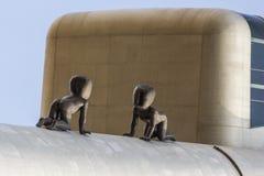 Escultura do bebês em Praga Imagens de Stock Royalty Free