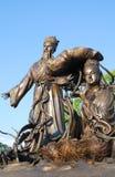 Escultura do chinês Imagem de Stock Royalty Free