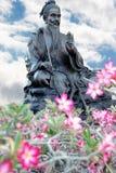 Escultura do chinês Fotografia de Stock Royalty Free