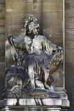 Escultura do deus antigo Imagem de Stock