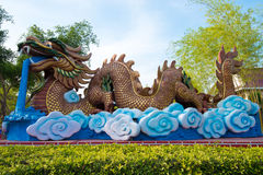 Escultura do dragão Imagens de Stock