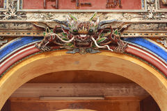 Escultura do dragão Imagens de Stock Royalty Free