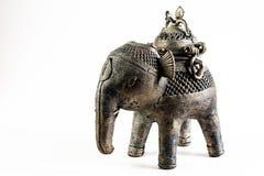 Escultura do elefante Fotografia de Stock Royalty Free
