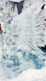 Escultura do gelo Fotografia de Stock Royalty Free